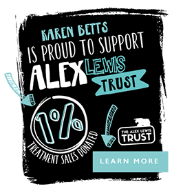 Karen is proud to support Alex Lewis. Find out more.