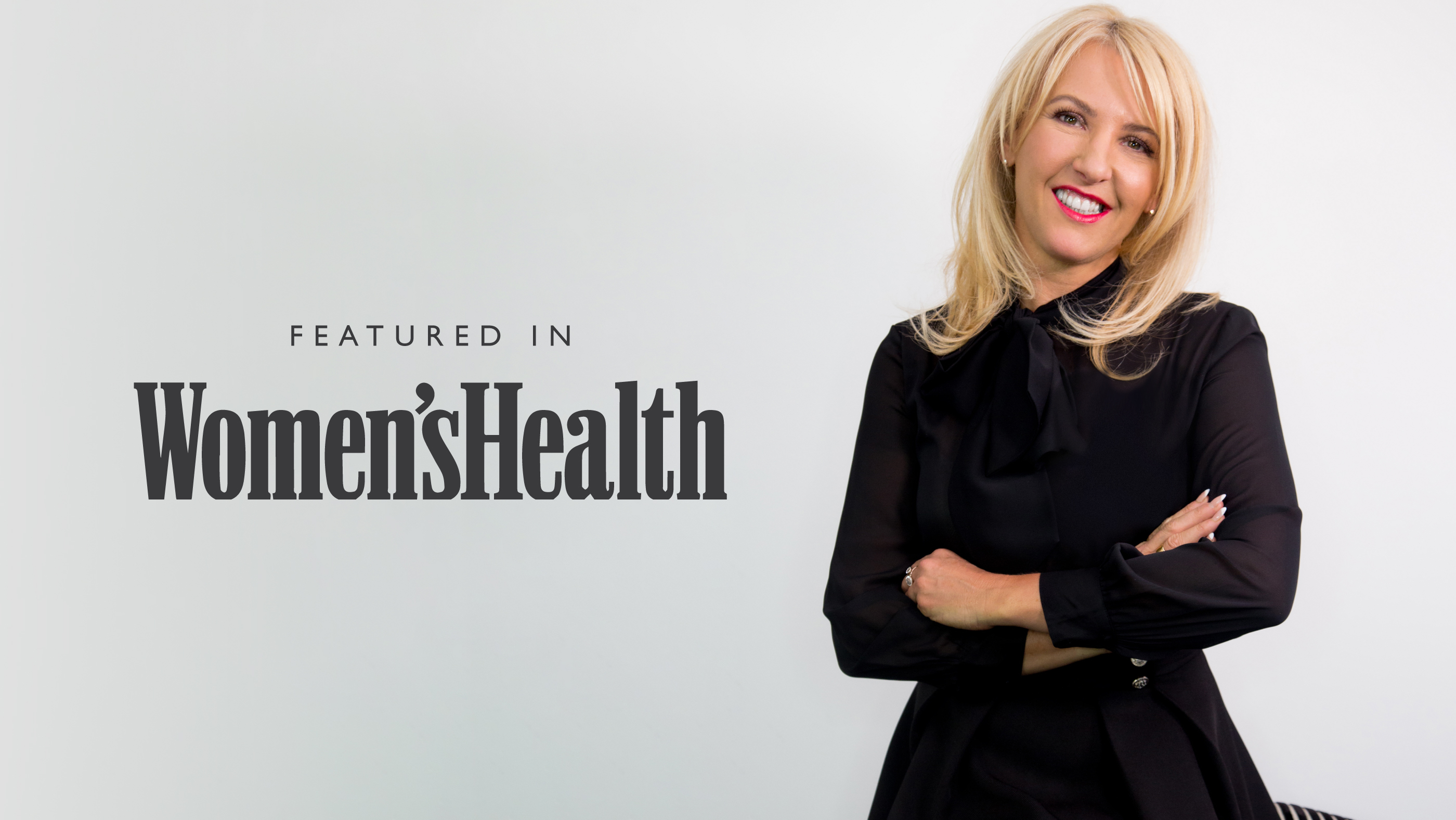 Karen Betts appears in Women's Health