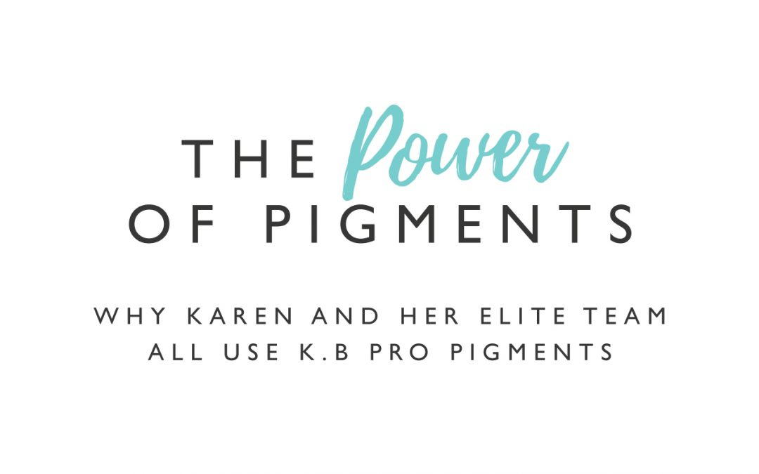 Why you should really care what type of pigments your permanent makeup artist is using